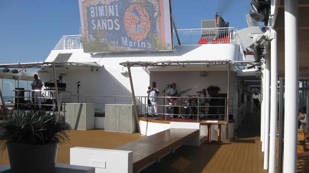 Deck Party on Bimini Deck 7
