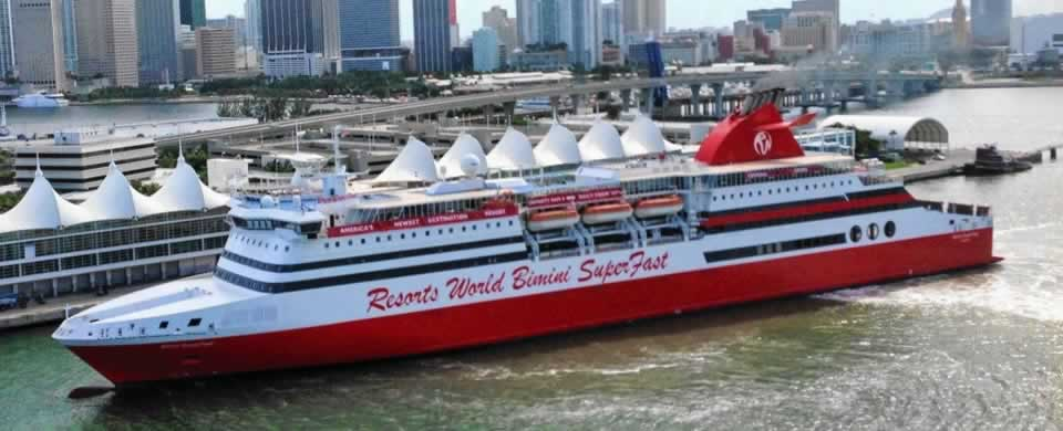 Bimini Bahamas Day cruise from Miami or Fort Lauderdale